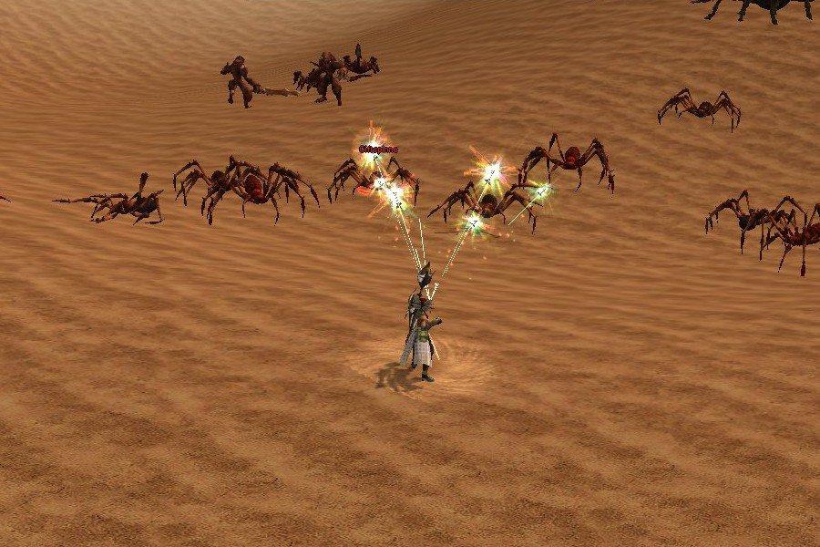 Metin2: Einen Namen als Helden macht ihr euch überwiegend über das Töten von Feinden, die Quests sind rar gesät