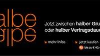 Orange Austria: Wieder halbe Grundgebühr