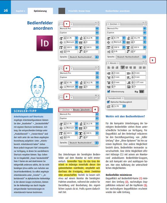 indesign handbuch