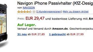 Zubehör: Navigon Car Kit für EUR 30,-