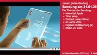 Video Tipp: 3sat neues vom 31.01.2010