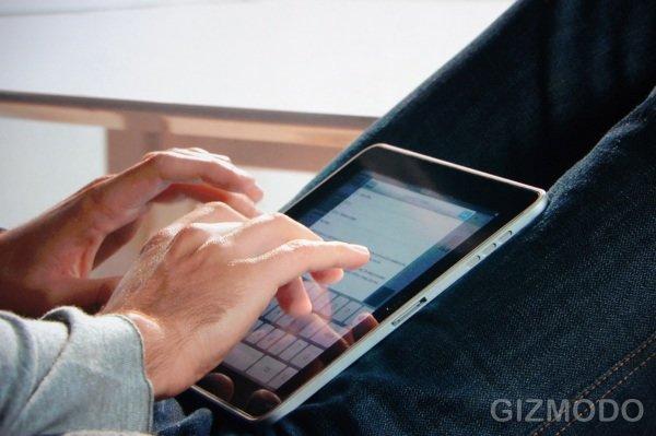 """Apple stellt Tablet-Gerät """"iPad"""" vor"""