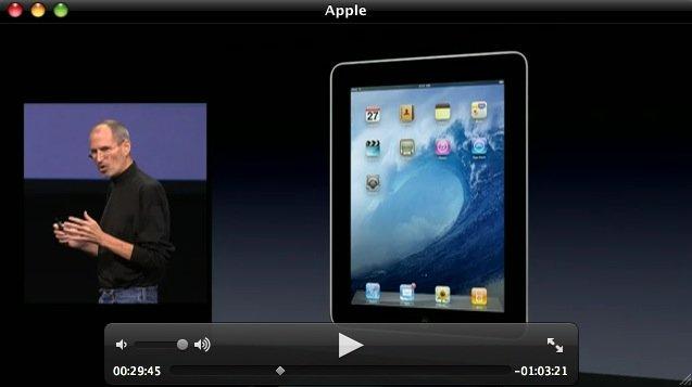 Apple veröffentlicht Aufzeichnung der iPad-Präsentation
