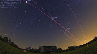 Stellarium bringt Sternenhimmel auf den Mac