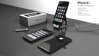Überarbeitetes 3D Konzept für das iPhone 4G