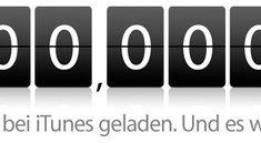iTunes: Milliardenfachen Dank. Mal 10.