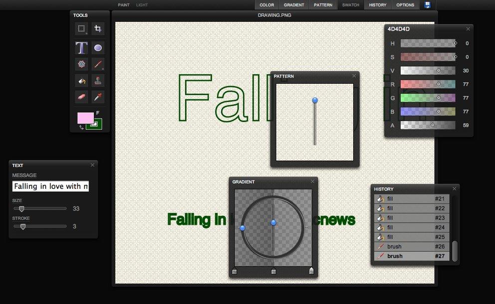 Sketchpad: Zeichenprogramm im Browser