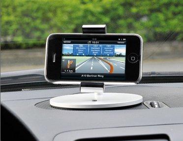 Lounge: iPhone-Halterung für Desktop und Dashboard