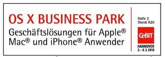 macnews.de und OS X Business Park verlosen 500 CeBIT-Tickets