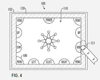 Berührungsempfindlicher Rahmen für iPad und iPhone