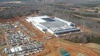 Luftaufnahmen von Apples neuer Server-Farm