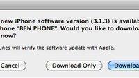 Bugfixes & neues Baseband: Firmware 3.1.3 veröffentlicht [Update]