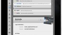 iPad: Safari-Videotour und 1Password-App