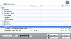 iPhone Explorer: Per USB ins Dateverzeichnis