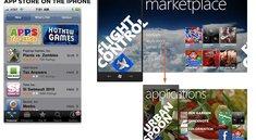 Windows Phone 7 mit umständlicher Menüführung