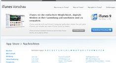 Neues Update für Browser-basierte iTunes-Vorschau