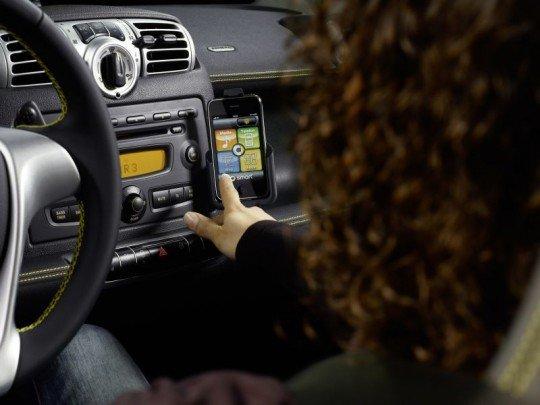 Mercedes Benz entwickelt iPhone App für den Smart