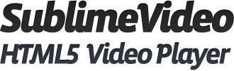 SublimeVideo HTML5 Video Player