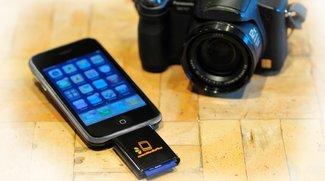 zoomIt-Adapter: SD-Karten am iPhone