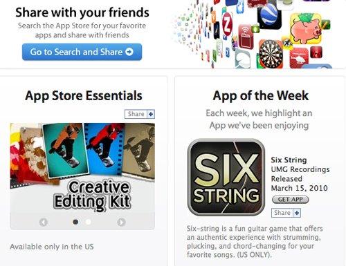 Facebook: Apple AppStore durchsuchen und Apps Kaufen