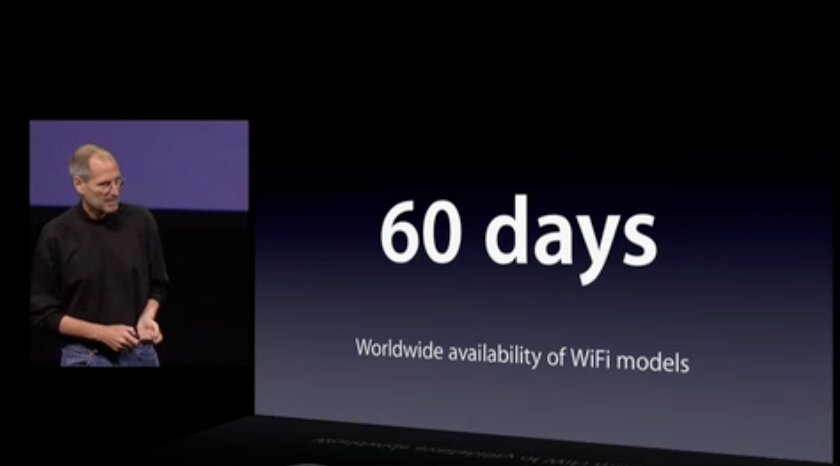 Apple: iPad kommt später (Update)