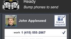 Bump it up: Adressaustausch von iPhone zu iPhone