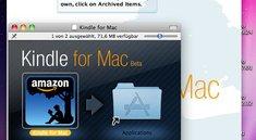 Reichlich Lesestoff: Der Mac bekommt ein Kindle
