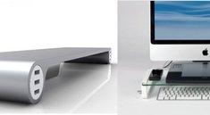 Spacebar und U-Board: Tastaturablage und MacBook-Ständer in einem