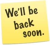 We'll be back soon: Online Stores nicht mehr erreichbar