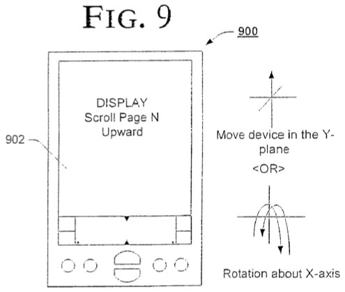 Accelerometer-Patent von Apple- und Google-Mitarbeitern?