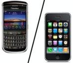 Studie: 4 von 10 Blackberry-Benutzern würden zum iPhone wechseln