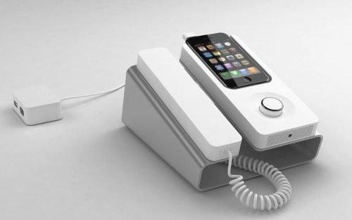 Desk Phone Dock: iPhone in Haustelefon verwandeln