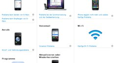 Apple aktualisiert iPhone Support-Seite