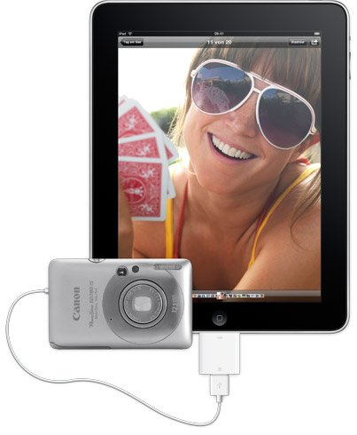 iPad Camera Connection Kit ab Ende April erhältlich