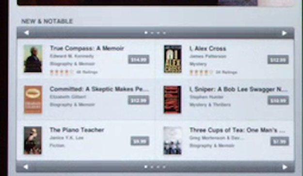 iPad: Detail-Informationen aus dem Werbeclip