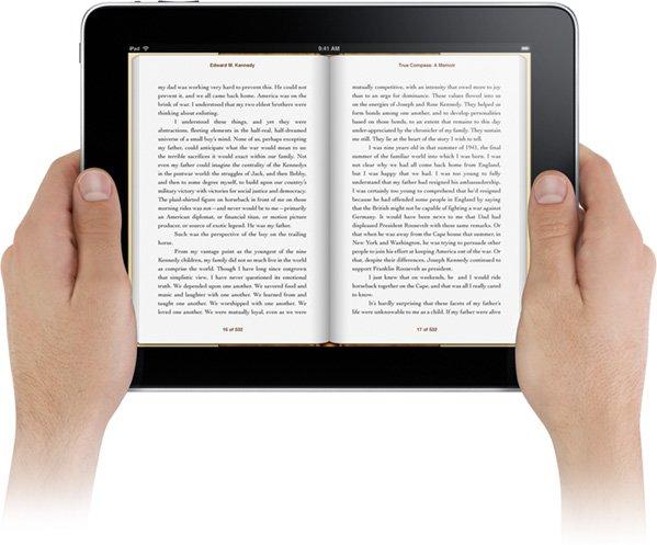 Apple über iBooks-Features