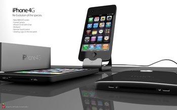 iPhone 4G Konzept in 3D, zweite Version
