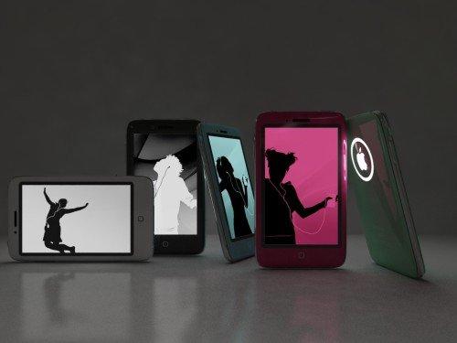 iPhone 4Gen Konzept: Multicolor