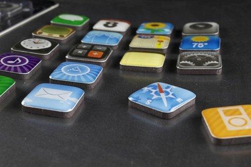 iPhone App-Icons als Magneten