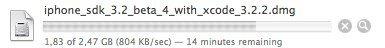 Für Entwickler: iPhone OS 3.2 SDK beta 4 veröffentlicht