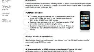 Mit AT&amp&#x3B;T Simlock: Apple verkauft vertragsfreie iPhones