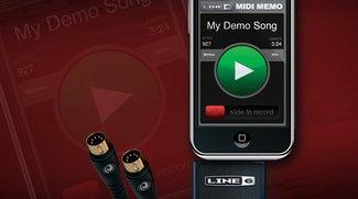 Ab April: MIDI-Interface für iPhone und iPod touch