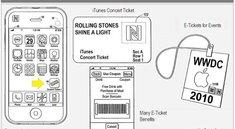 Das iPhone als Konzertkarte