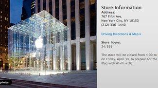 iPad 3G in Sicht: US-Stores schließen