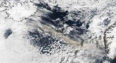 Ein Blick auf die Aschewolke via Google Earth und darüber hinaus