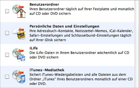 Unverhofftes Update: Apple Backup lebt