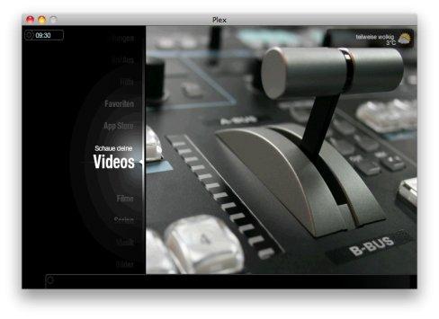Plex: Mehr Unterhaltung auf großen Bildschirmen