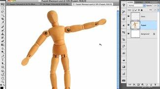 """""""Puppet Warp"""" in Photoshop CS5: Spielen mit der Gliederpuppe"""
