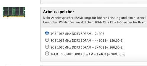 Apple senkt Speicherpreise für 27 Zoll iMac