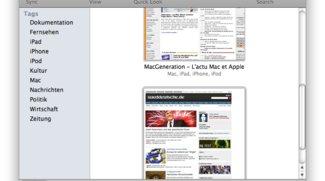 Delish: Del.icio.us-Client für Mac OS X 10.6